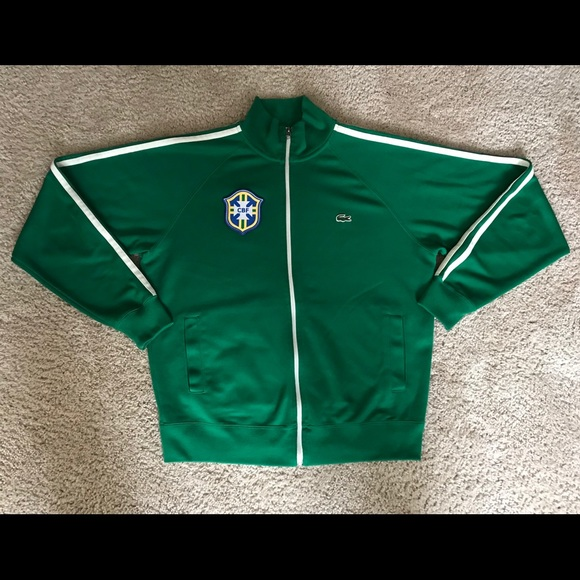 Lacoste Jackets & Blazers - Lacoste GBF Brazil Track Jacket
